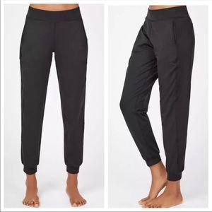 Sweaty Betty Explorer Gary Yoga Trousers Black S